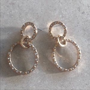 Gold BaubleBar earrings never worn